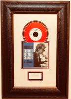 Bob Dylan Signed 19x28 Custom Framed Record Display (JSA LOA)