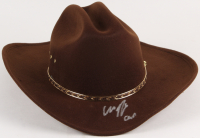 "Chandler Riggs Signed ""The Walking Dead"" Carl Grimes Sheriff Hat (Radke Hologram)"