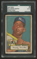 1952 Topps #311 Mickey Mantle (SGC Authentic) at PristineAuction.com
