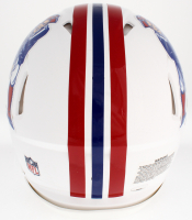 Tom Brady Signed Patriots Throwback Full-Size Authentic On-Field Speed Helmet (TriStar Hologram) at PristineAuction.com