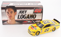 Joey Logano Signed NASCAR #22 Pennzoil 2017 Fusion 1:24 Limited Edition Premium Action Diecast Car (PA COA) at PristineAuction.com