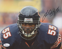 Lance Briggs Signed Bears 8x10 Photo (JSA COA) at PristineAuction.com