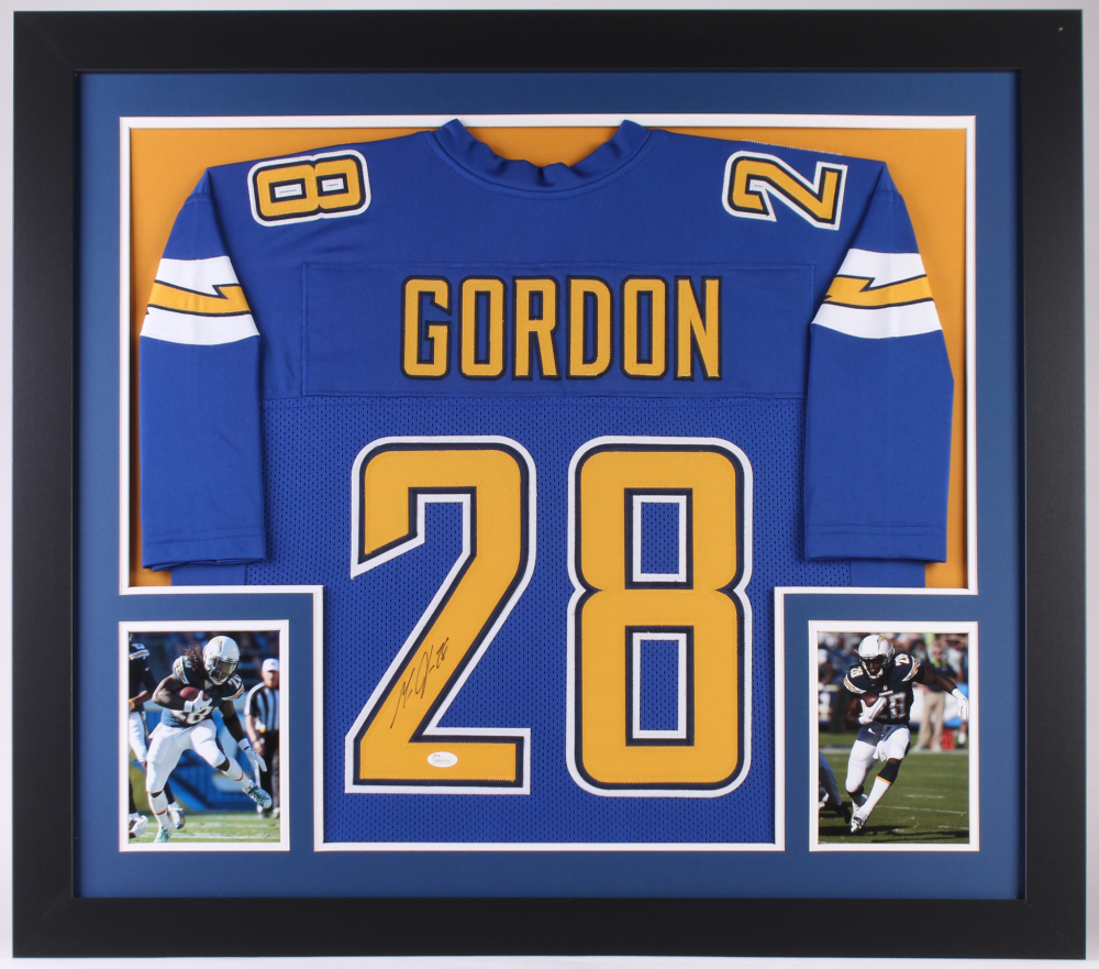 Melvin Gordon Signed Chargers 31x35 Custom Framed Jersey (JSA COA) at  PristineAuction.com 09070af2a