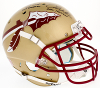 Jameis Winston, Charlie Ward & Chris Weinke Florida State Seminoles Full-Size Authentic On-Helmet with (3) Heisman Inscriptions (Radtke COA & Winston Hologram) at PristineAuction.com