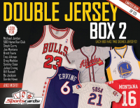 Double Jersey Box 2- Sportscards.com Multi-sport Mystery Signed Jersey Box!