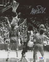 Magic Johnson Signed Michigan State Spartans 8x10 Photo (PSA COA)