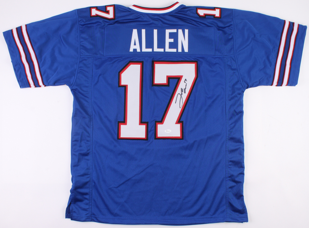 Josh Allen Signed Buffalo Bills Jersey (JSA COA)   Pristine Auction