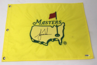 Tiger Woods Signed 1997 Masters Golf Pin Flag (UDA COA)