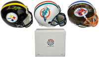 Schwartz Sports Football Superstar Signed Full Size Football Helmet Mystery Box - Series 3 (Limited to 50)