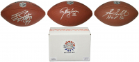 Schwartz Sports Football Superstar Signed Full Size Football - Series 5 (Limited to 100)