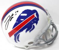Josh Allen Signed Bills Authentic On-Field Full-Size Helmet (JSA COA)