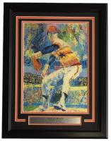 "Leroy Neiman ""The Ryan Express"" 16x22 Custom Framed Print Display"