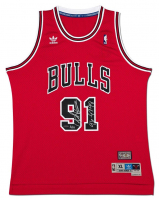 "Dennis Rodman Signed Chicago Bulls Limited Edition Jersey Inscribed ""96-97-98"" (UDA COA) at PristineAuction.com"