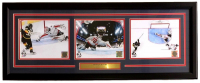 Braden Holtby 2018 Stanley Cup Capitals 16x39 Custom Framed Photo Display at PristineAuction.com
