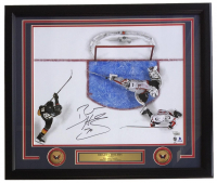 Braden Holtby Signed 2018 Stanley Cup Capitals 22x27 Custom Framed Photo Display (Fanatics Hologram)