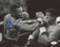 "Mike Tyson Signed ""Rocky Balboa"" 8x10 Photo (JSA COA)"