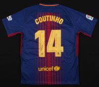Philippe Coutinho Signed Nike FC Barcelona Jersey (Beckett COA)