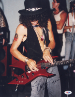 "Slash Signed ""Guns N' Roses"" 11x14 Photo (PSA COA) at PristineAuction.com"