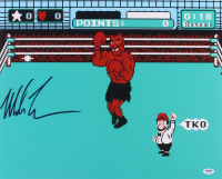 "Mike Tyson Signed ""Mike Tyson's Punch-Out!!"" 16x20 Photo (PSA COA) at PristineAuction.com"