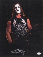 Sting Signed WWE 11x14 Photo (JSA COA)