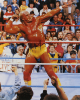Hulk Hogan Signed WWE 16x20 Photo (Mead Chasky Hologram)