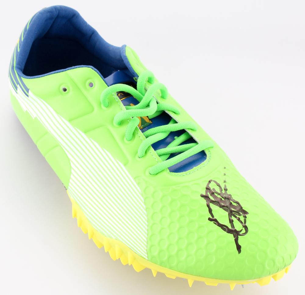 Usain Bolt Signed Puma Track Cleat (JSA COA) at PristineAuction.com 710e45b89