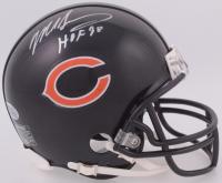"Mike Singletary Signed Bears Mini-Helmet Inscribed ""HOF 98"" (Beckett COA) at PristineAuction.com"