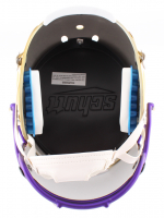 Kirk Cousins Signed Vikings Custom Satin Gold Full-Size Helmet With Mirrored Visor (Beckett COA) at PristineAuction.com