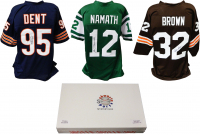 Schwartz Sports Football Hall of Famer Signed Mystery Box Football Jersey  Series 9 - (Limited to 100) at PristineAuction.com