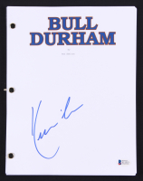 "Kevin Costner Signed ""Bull Durham"" Movie Script (Beckett COA) at PristineAuction.com"