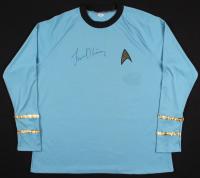 "Leonard Nimoy Signed ""Star Trek"" Prop Replica Uniform Shirt (PSA COA)"