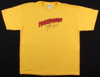 Hulk Hogan Signed Hulkamania T-Shirt (Mead Chasky Hologram)