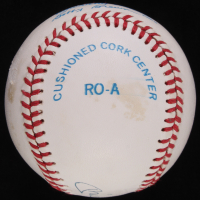Mickey Mantle Signed OAL Baseball with High Quality Display Case (JSA ALOA) at PristineAuction.com