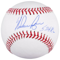 "Nolan Ryan Signed Baseball Inscribed ""5714 K's"" (Fanatics Hologram) at PristineAuction.com"
