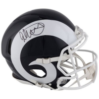 Todd Gurley Signed Rams Full-Size Authentic On-Field Helmet (Fanatics Hologram) at PristineAuction.com