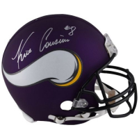 Kirk Cousins Signed Vikings Full-Size Authentic On-Field Helmet (Fanatics Hologram) at PristineAuction.com