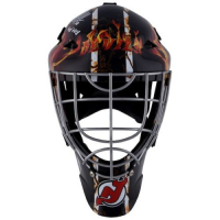 "Martin Brodeur Signed Devils Full Size Goalie Mask Inscribed ""HOF 2018"" (Fanatics Hologram) at PristineAuction.com"