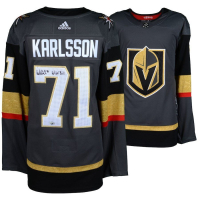 "William Karlsson Signed Golden Knights Adidas Jersey Inscribed ""Wild Bill"" (Fanatics Hologram)"