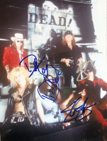 Guns N' Roses Band-Signed 8x10 Photo with (4) Signatures Including Slash, Duff McKagan, Dizzy Reed & Izzy Stradlin (JSA LOA)
