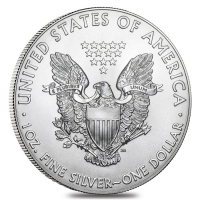 Lot of (5) 2018 $1 American Eagle Silver Dollar $1 Coins (Brilliant Uncirculated) at PristineAuction.com