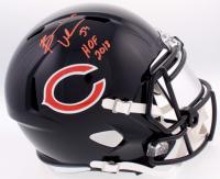 Brian Urlacher Signed Bears Full-Size Speed Helmet With Mirrored Visor  Inscribed