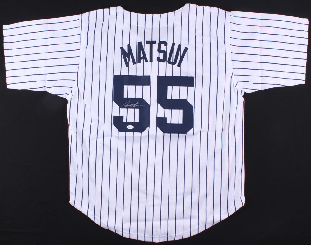 Hideki Matsui Signed Yankees Jersey (JSA COA) at PristineAuction.com 94ebe591459