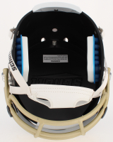 Drew Brees Signed Saints Full-Size Custom Matte Black Helmet With Mirrored Visor (Beckett COA) at PristineAuction.com