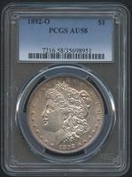 1892-O $1 Morgan Silver Dollar (PCGS AU 58) at PristineAuction.com