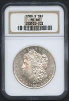 1880-S $1 Morgan Silver Dollar (NGC MS 66)