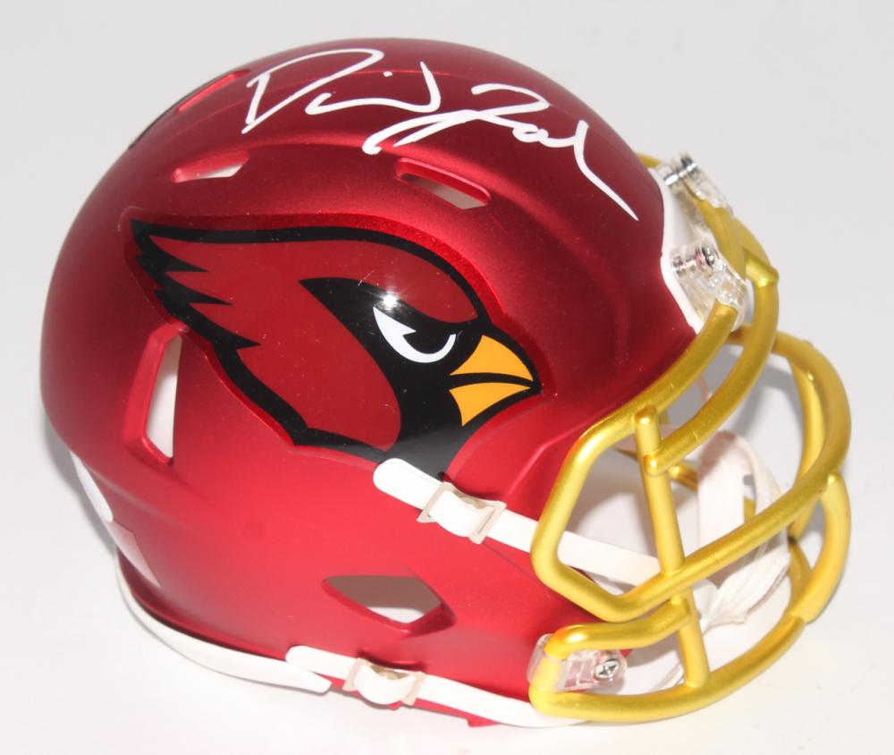 b88dc19b392 David Johnson Signed Cardinals Blaze Speed Mini Helmet (JSA COA)