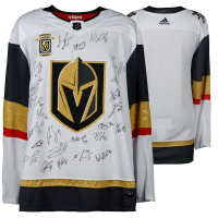 Vegas Golden Knights 2018 Western Conference Champions Authentic Adidas Jersey with (22) Signatures Including Marc-Andre Fleury, William Karlsson, Jonathan Marchessault, James Neal, Tomas Tatar (Fanatics Hologram)