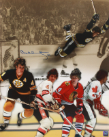 Bobby Orr Signed Bruins 16x20 Photo Collage (Orr COA) at PristineAuction.com