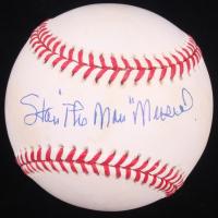 """Stan """"The Man"""" Musial Signed ONL Baseball (JSA COA)"""