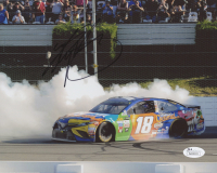 Kyle Busch Signed NASCAR 8x10 Photo (JSA COA)